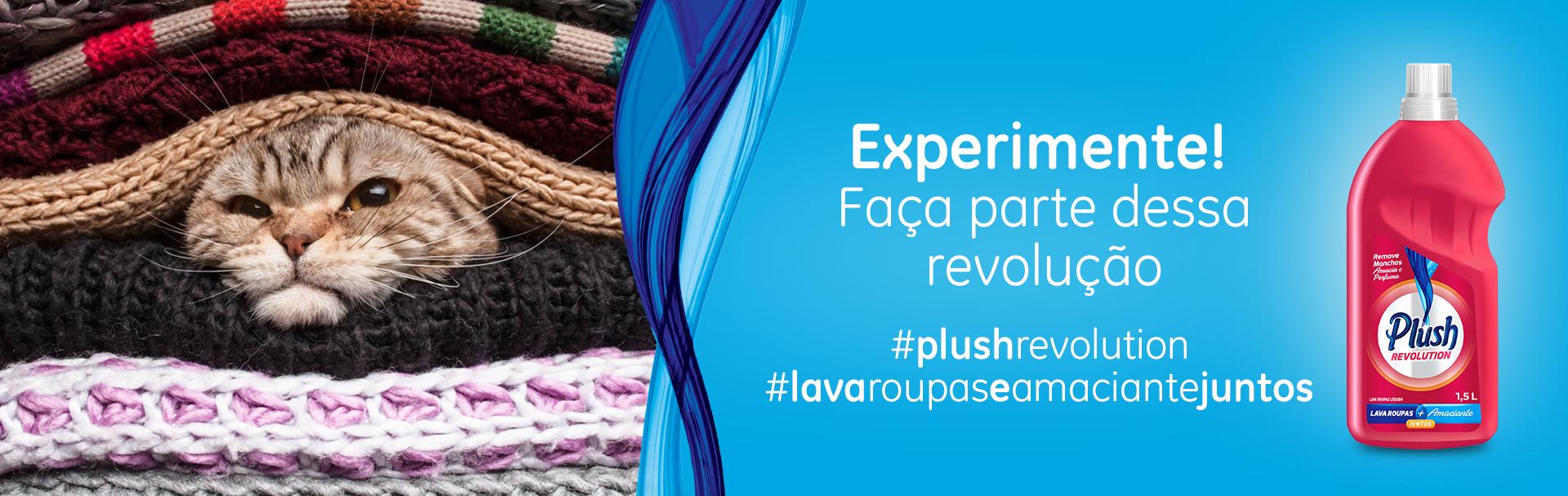 Plush Revolution - Peça sua amostra grátis